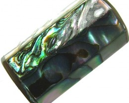 ABALONE BEAD DRILLED FROM AUSTRALIA 32.55 CTS [PF327]