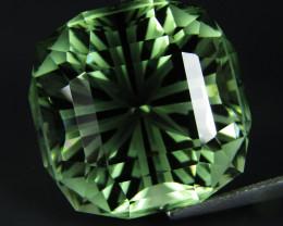 38.36Cts Stunning Natural Green Amethyst (prasiolite) Fashion Cushion  Cut