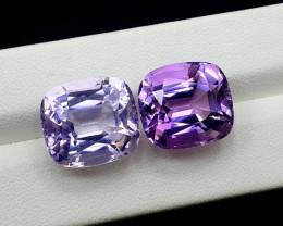 Amethyst, 32.75 Cts Natural Top Color & Cut Amethyst Gemstones