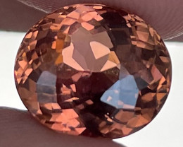 6.00 CT Sunset Orange !!  Excellent Cut AAA Mozambique Tourmaline-TC9