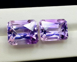 Amethyst, 36.20 Cts Natural Top Color & Cut Amethyst Gemstones