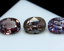 NR!!! 2.05 Cts Natural & Unheated~ Multi Color Sapphire Gemstone Lot