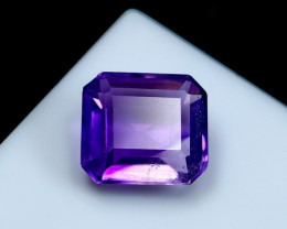 NR!!! 4.95 Cts Natural & Unheated~ Purple Amethyst Gemstone
