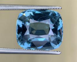 10.48  Cts Top luster Cornflower blue topaz gemstone