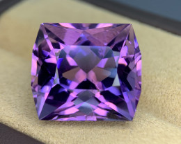 31.20 Cts  Top color Fancy cut Natural  Amethyst Gemstone