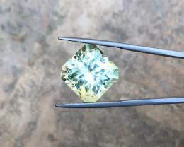 23.45 Ct Natural Yellow Transparent Triphane Gemstone