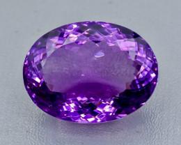 50.59 Crt  Amethyst Faceted Gemstone (Rk-100)