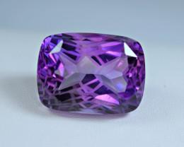 Flawless 59 Carat Amethyst Top Fancy Cut Gemstone