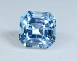 4.50 Carat Blue Aquamarine Top Fancy Cut Gemstone