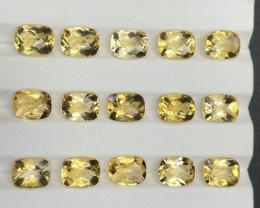 28.69 CT Citrine Gemstones parcel