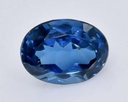 1.81 Crt Natural London Blue Topaz  Faceted Gemstone.( AB 24)