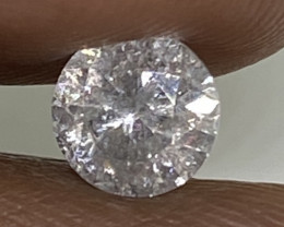 (C) Certified Nat $1593  Precious  0.71cts SI3  White Round Loose Diamond