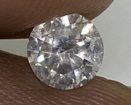 (D) Certified Nat $1050 Gorgeous 0.59cts SI2  White Round Loose Diamond
