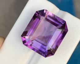 26.50 Carats fancy cut amethyst gemstone