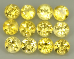 5.80 Cts Ravishing Natural Golden~Yellow Citrine Round Cut Gemstone!!