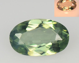 *NoReserve*Alexandrite 0.27 Cts Color Change Green To Orange Natural