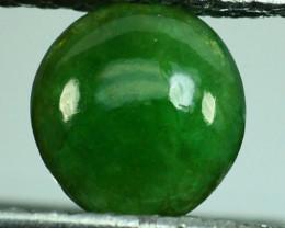 ~UNTREATED~ 1.04 Cts Natural Green Jade Cabochon Burmese
