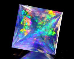 2.45Ct ContraLuz Precision Cut Mexican Very Rare Species Opal C0902