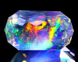 9.94Ct ContraLuz Precision Cut Mexican Very Rare Species Opal C0914