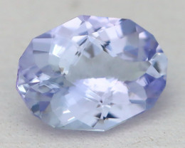 1.24Ct VVS Master Oval Cut Natural Purplish Blue Tanzanite C0917