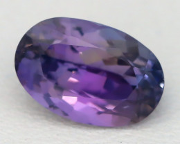 2.00Ct VS Oval Cut Natural Unheated BiColor Peacock Tanzanite C0932