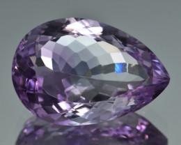 Natural Amethyst 15.42  Cts, Good Quality Gemstone