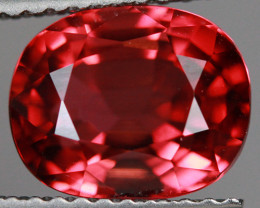 3.15 CT Orangy Red Excellent Cut AAA Mozambique Tourmaline-TA64