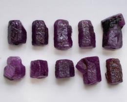 102.95 CT Top Quality Ruby Crystals ~ Madagascar .A.