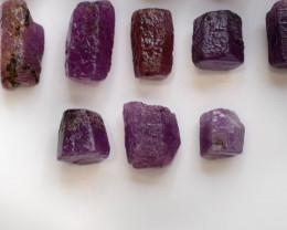 101.80 CT Top Quality Ruby Crystals ~ Madagascar .A.