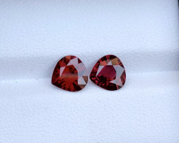 2.40 ct Red Color Pair Spinel Untreated/Unheated ~Burma