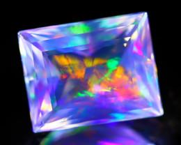 2.16Ct ContraLuz Precision Cut Mexican Very Rare Species Opal A1014