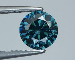 1.00 CT blue Diamond Gemstones Top luster