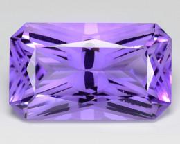 *No Reserve* Amethyst 18.52 Cts Natural Purple Gemstone