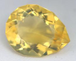 9.16Ct Pear Cut Natural Mexican Crystal Flash Fire Opal Interesting B1103