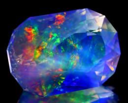 15.63Ct ContraLuz Oval Cut Mexican Very Rare Species Opal B1104