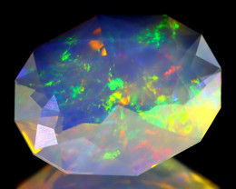6.94Ct ContraLuz Oval Cut Mexican Very Rare Species Opal B1132