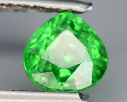 AAA Grade 1.05 ct Forest Green Tsavorite Garnet-K