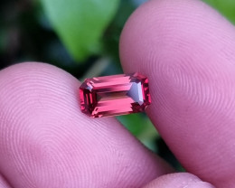 NO TREAT 1.51 CTS NATURAL STUNNING ORANGY RED SPINEL BURMA