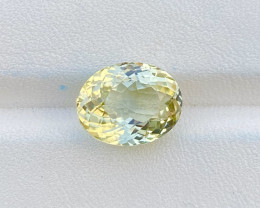 5.50 cts Natural Yellow Tourmaline Loupe Clean