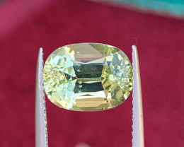 4.55ct Natural Green Tourmaline Good Quality Gemstone