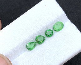 Brilliant Color 1.80 Carat  Natural   Tsavorite Garnet