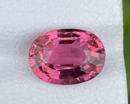 2.86 CT hot pink Tourmaline Gemstone