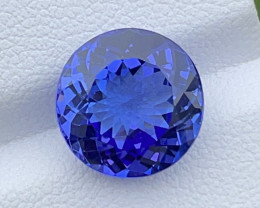 Top Grade 5.95 CT Tanzanite Gemstone Top color Top Luster with Top cutting