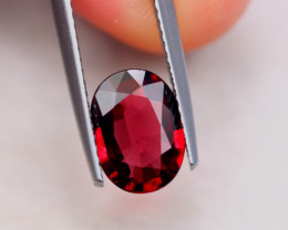 1.96Ct Natural Rhodolite Garnet Oval Cut Lot A822