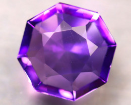 Amethyst 5.02Ct Natural Uruguay Electric Purple Amethyst E1007/C4