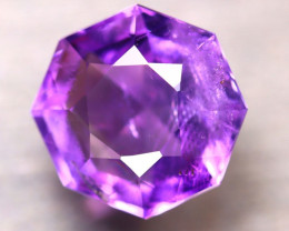 Amethyst 5.64Ct Natural Uruguay Electric Purple Amethyst E1008/C4