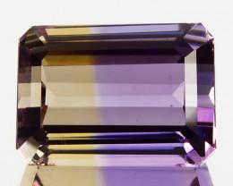 5.88 Cts Natural Bi-Color Ametrine Octagon Emerald Cut Bolivia
