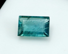 NR!!! 1.55 Cts Natural & Unheated~ Blue Tourmaline Gemstone