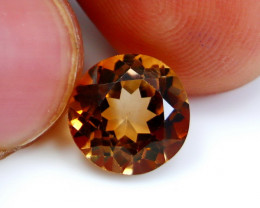 NR!!! 5.00 Cts Natural & Unheated~ Orange Brown Topaz Gemstone