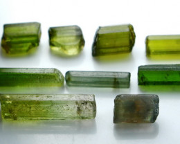 NR!!! 21.40 Cts Natural & Unheated~ Green Tourmaline Rough Lot